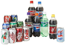 Carbonated Sodas & Beverages
